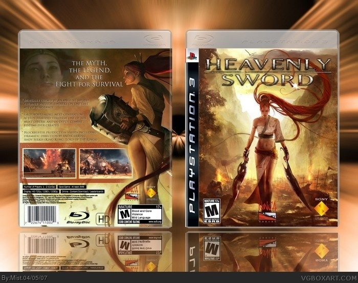 PlayStation 3 » Heavenly Sword Box Cover