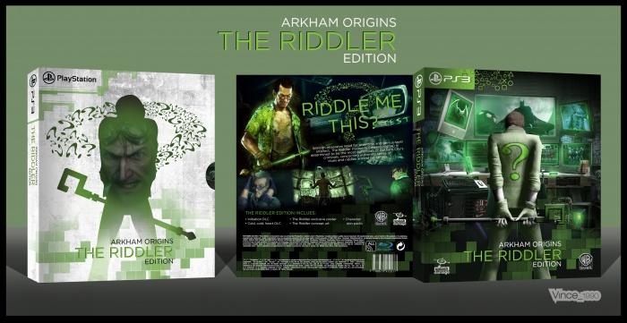 Arkham Origins Riddler
