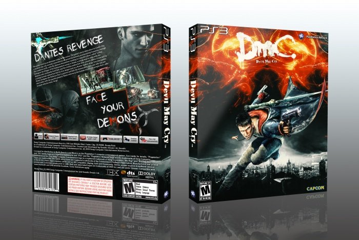 DMC: Devil May Cry box art cover