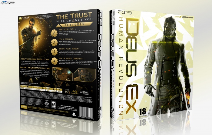 Deus Ex : Human Revolution box art cover