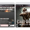 call of duty world at war Box Art Cover