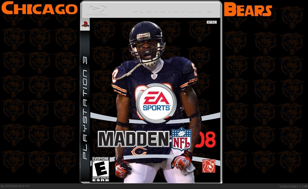 Viewing full size MADDEN 08 box cover