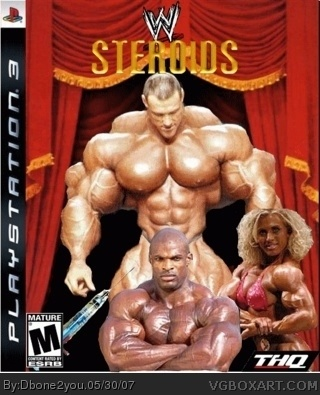 WWE Wrestlers On Steroids