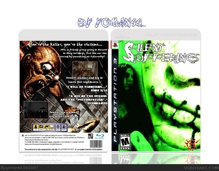 Silent Suffering box art cover