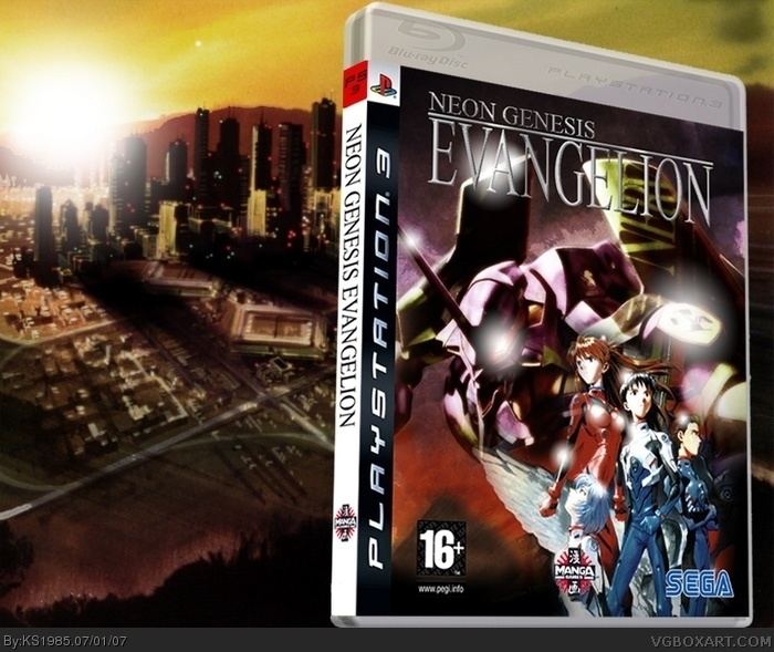 Neon Genesis Evangelion box art cover