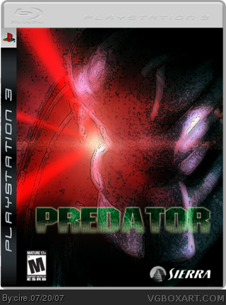 Predator box cover