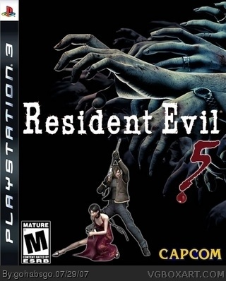 PlayStation 3 » Resident Evil 5 Box Cover