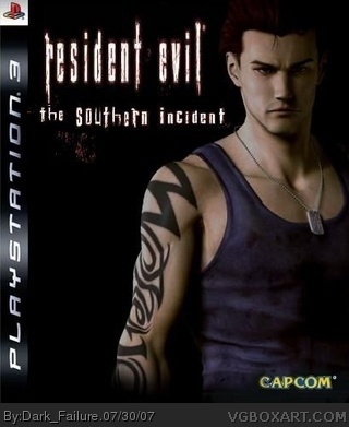 Resident Evil - The southern incident box cover