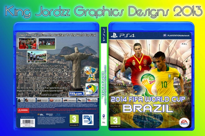 2014 FIFA World Cup Brazil box art cover