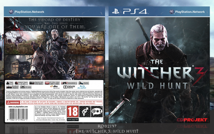 The Witcher 3: Wild Hunt box art cover
