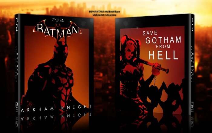 Batman Arkham Knight PlayStation 4 Box Art Cover by Ulquiorra
