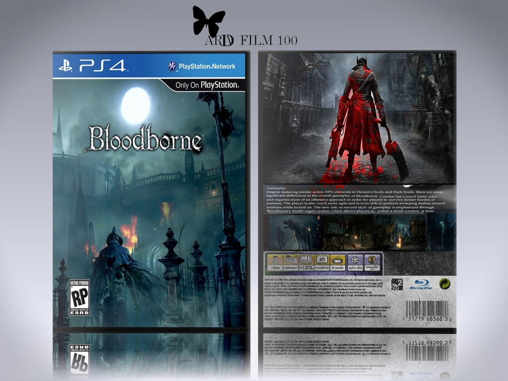 BLOODBORNE ..... box cover