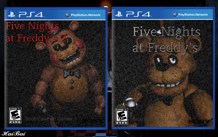 Five Nights at Freddy's 1 + 2 box art cover
