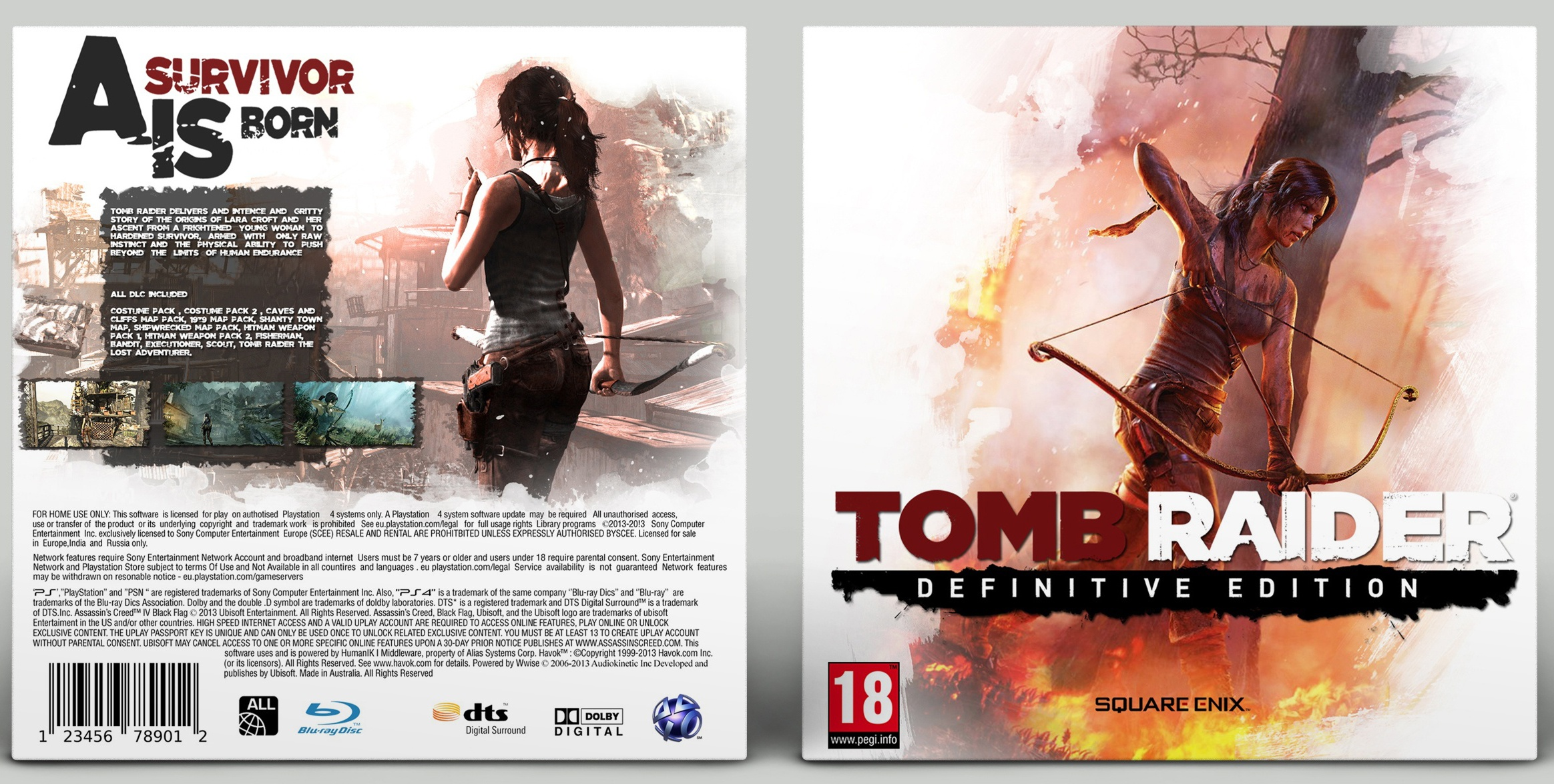 Tomb Raider: Definitive Edition box cover