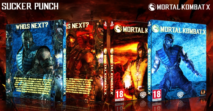 Mortal Kombat X box art cover