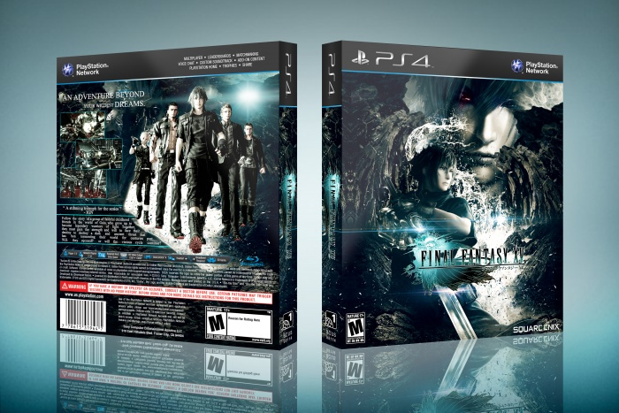 Final Fantasy 15 box art cover