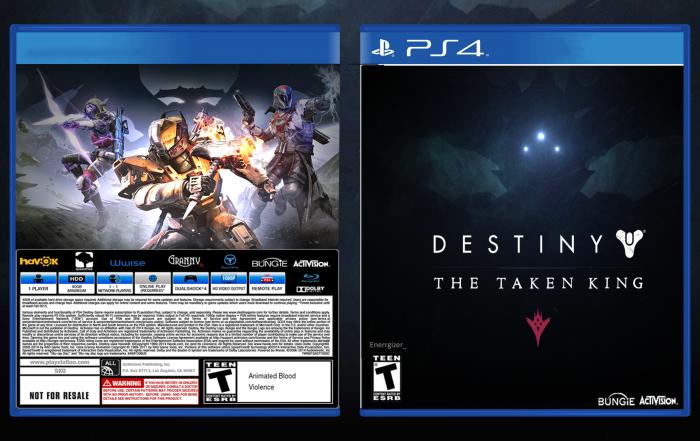 Destiny Game Cover Back