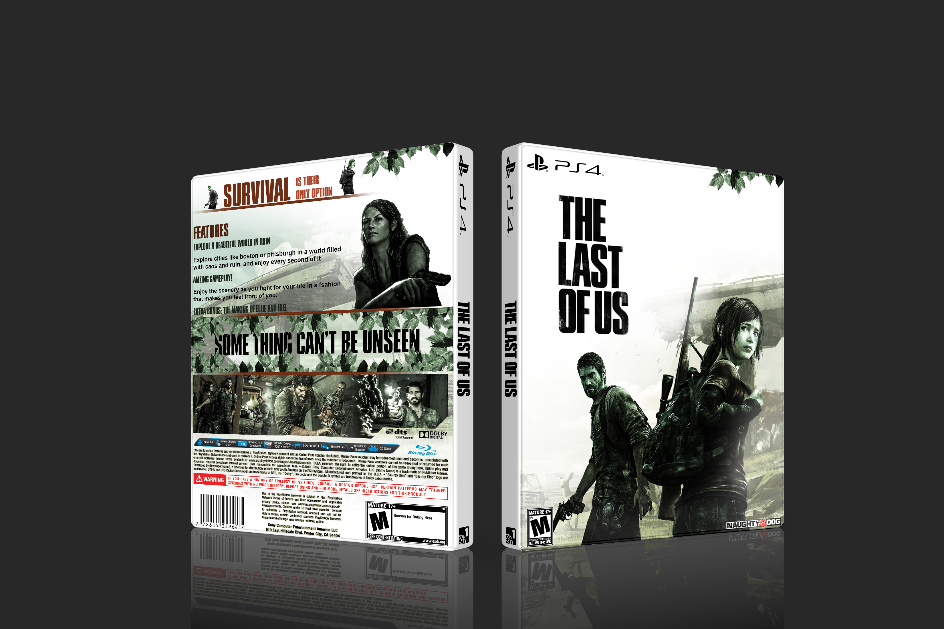 The Last of Us box cover