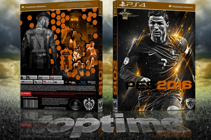 Pes 2016 box art cover