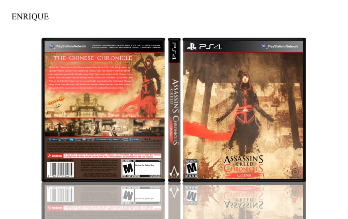 Assassin's Creed Chronicles: China box art cover