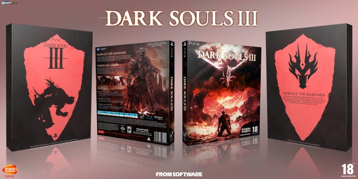 Dark Souls 3 box art cover