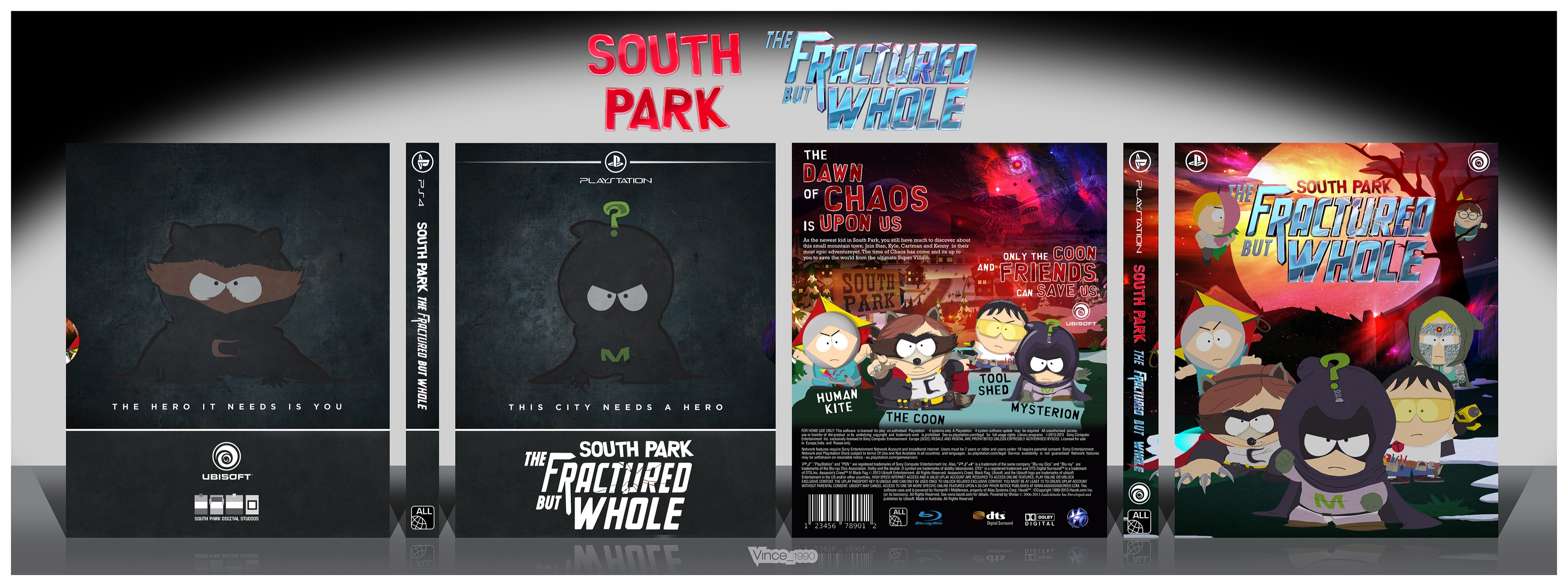South Park - the Fractured but Whole box cover