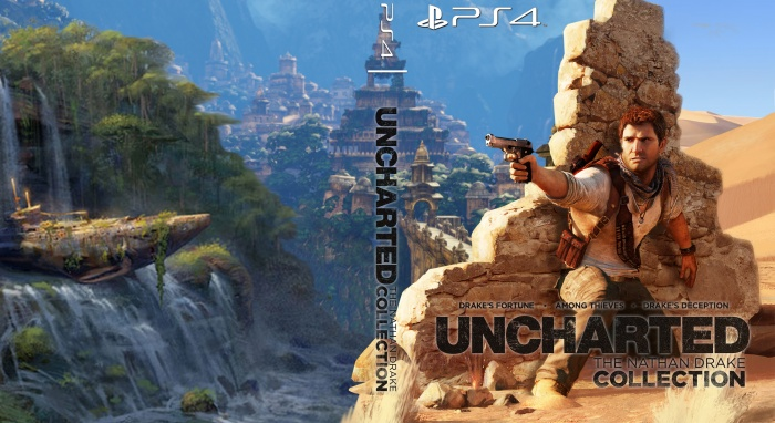 Uncharted The Nathan Drake Collection Playstation 4 Box Art Cover By Jak