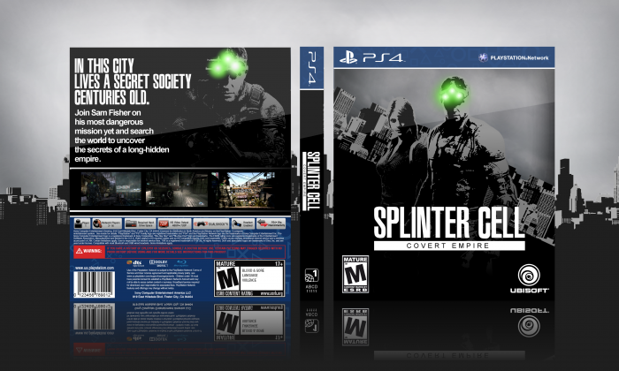 Splinter Cell Covert Empire Playstation 4 Box Art Cover By Danny 21