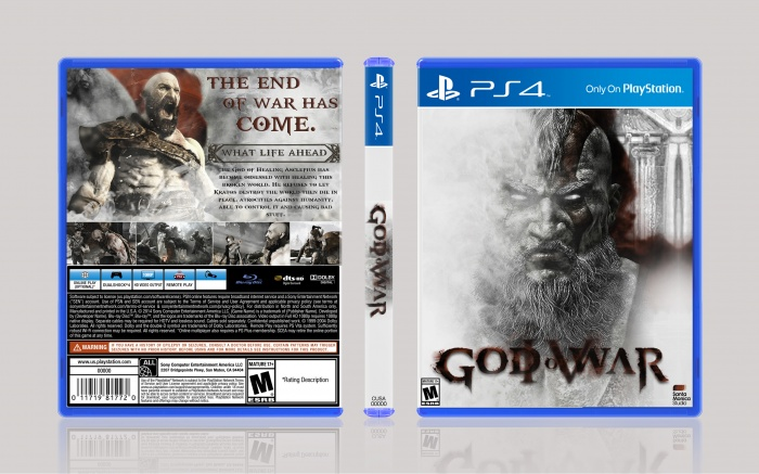 God Of War IV box art cover