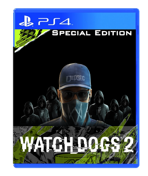 Watch Dogs 2 box cover