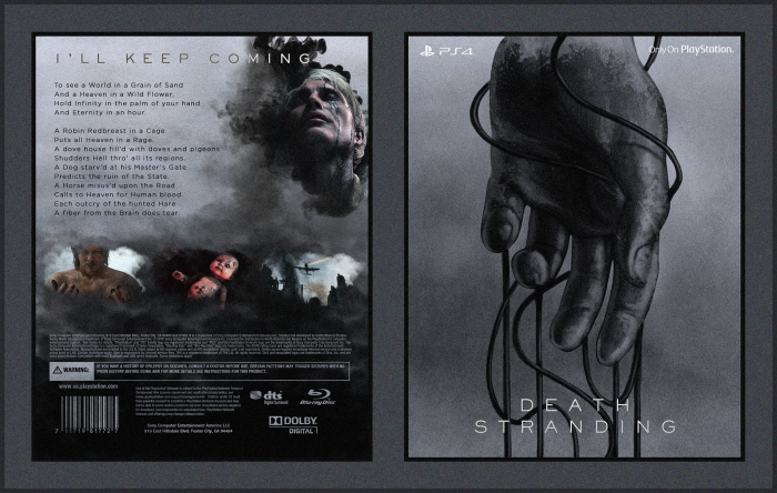 Death Stranding box art cover