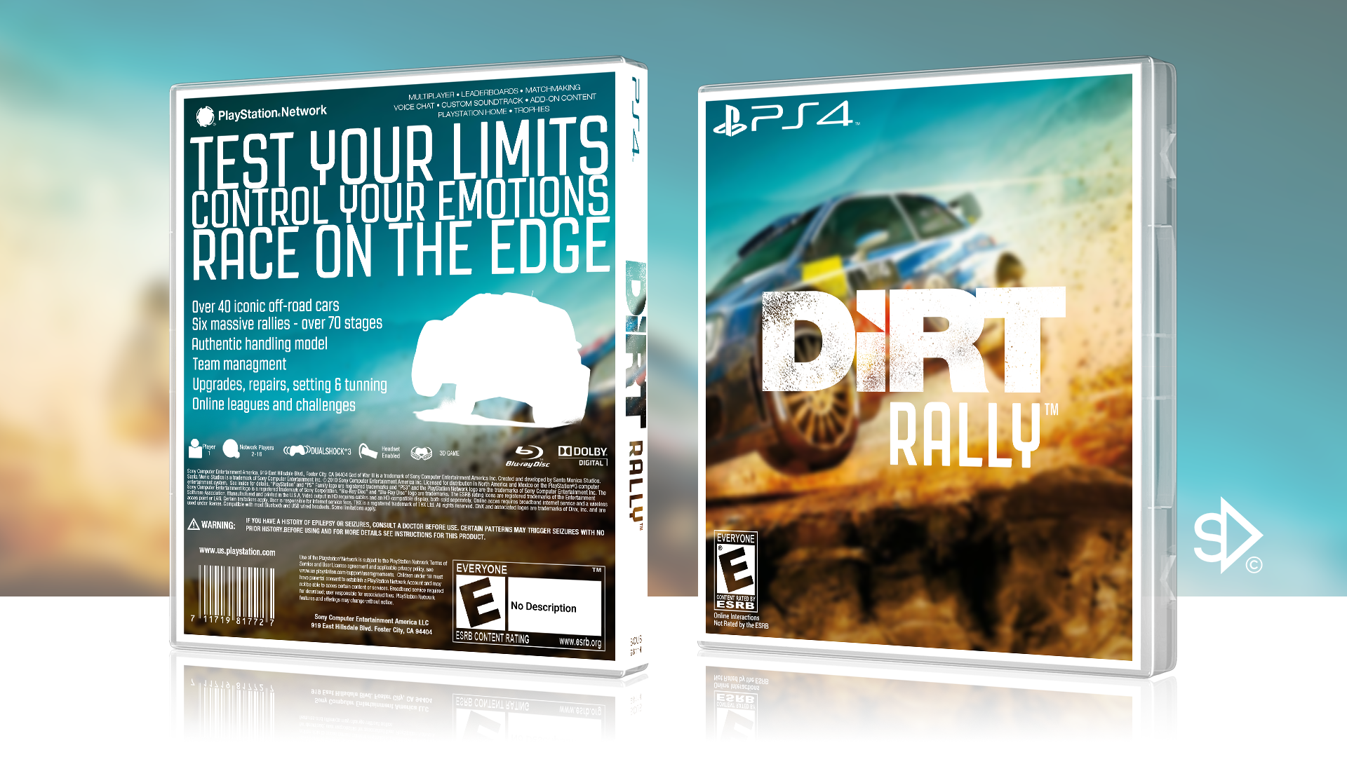 Comments Dirt Rally Box Cover