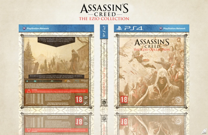 Assassin's Creed: The Ezio Collection box art cover