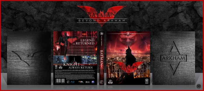 Batman: Beyond Arkham box art cover
