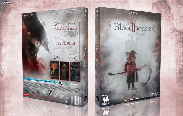 Bloodborne 2 box art cover