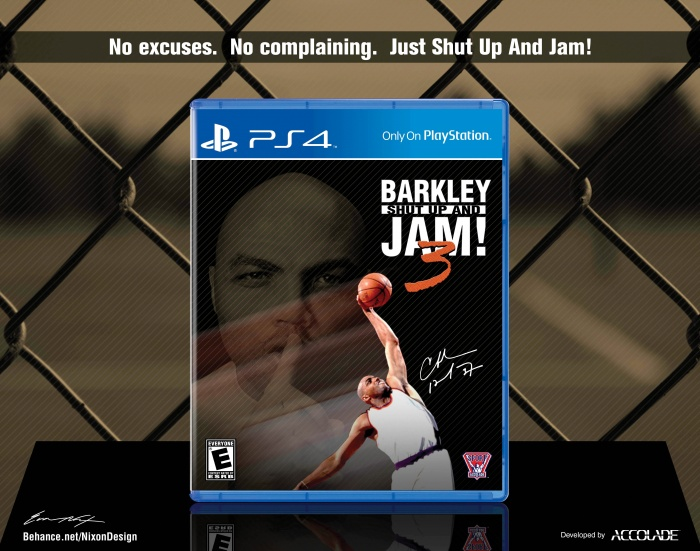 Barkley: Shut Up and Jam! 3 box art cover
