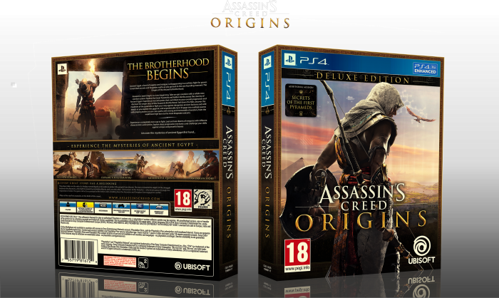 Assassin S Creed Origins Playstation 4 Box Art Cover By