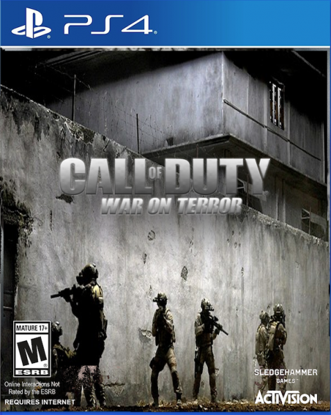 Call of Duty: War on Terror box cover