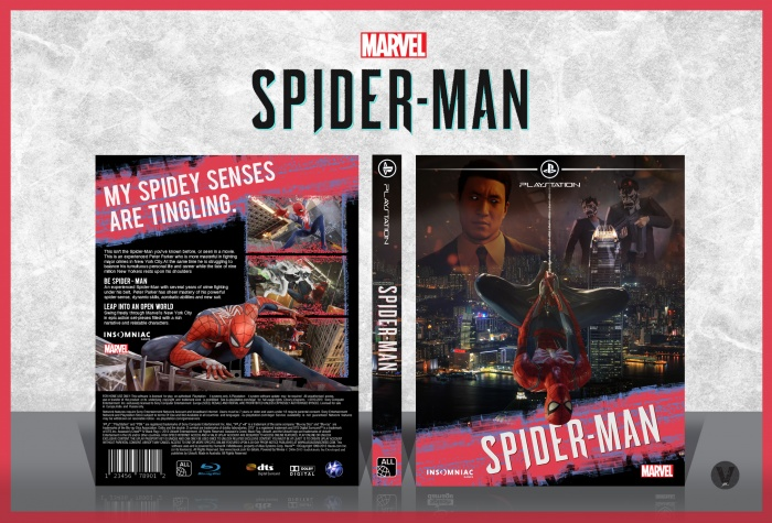 Spider man box art cover