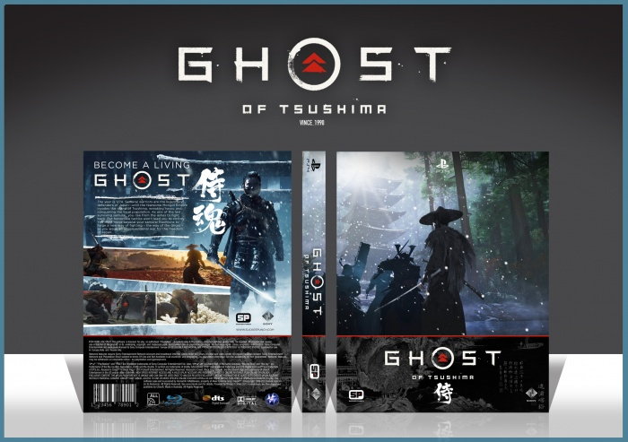 Ghost of Tsushima box art cover