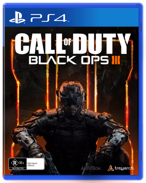 Call Of Duty: Black Ops 3 box art cover