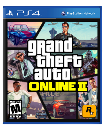 Grand Theft Auto Online 2 box cover