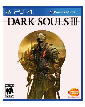 Dark Souls 3 box cover