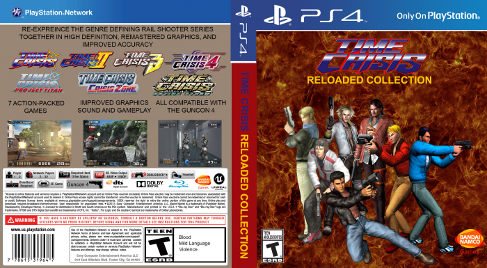 Time Crisis Reloaded Collection box art cover