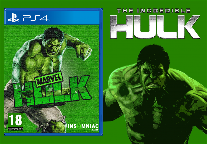 HULK Insomniac (PS4) box art cover