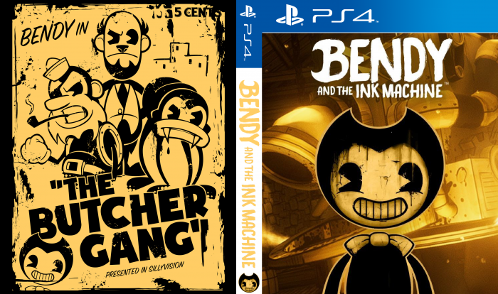 Bendy and the Ink Machine box art cover