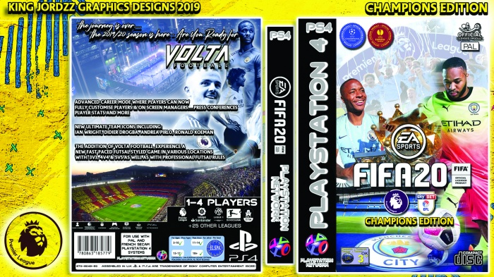 FIFA 20 box art cover
