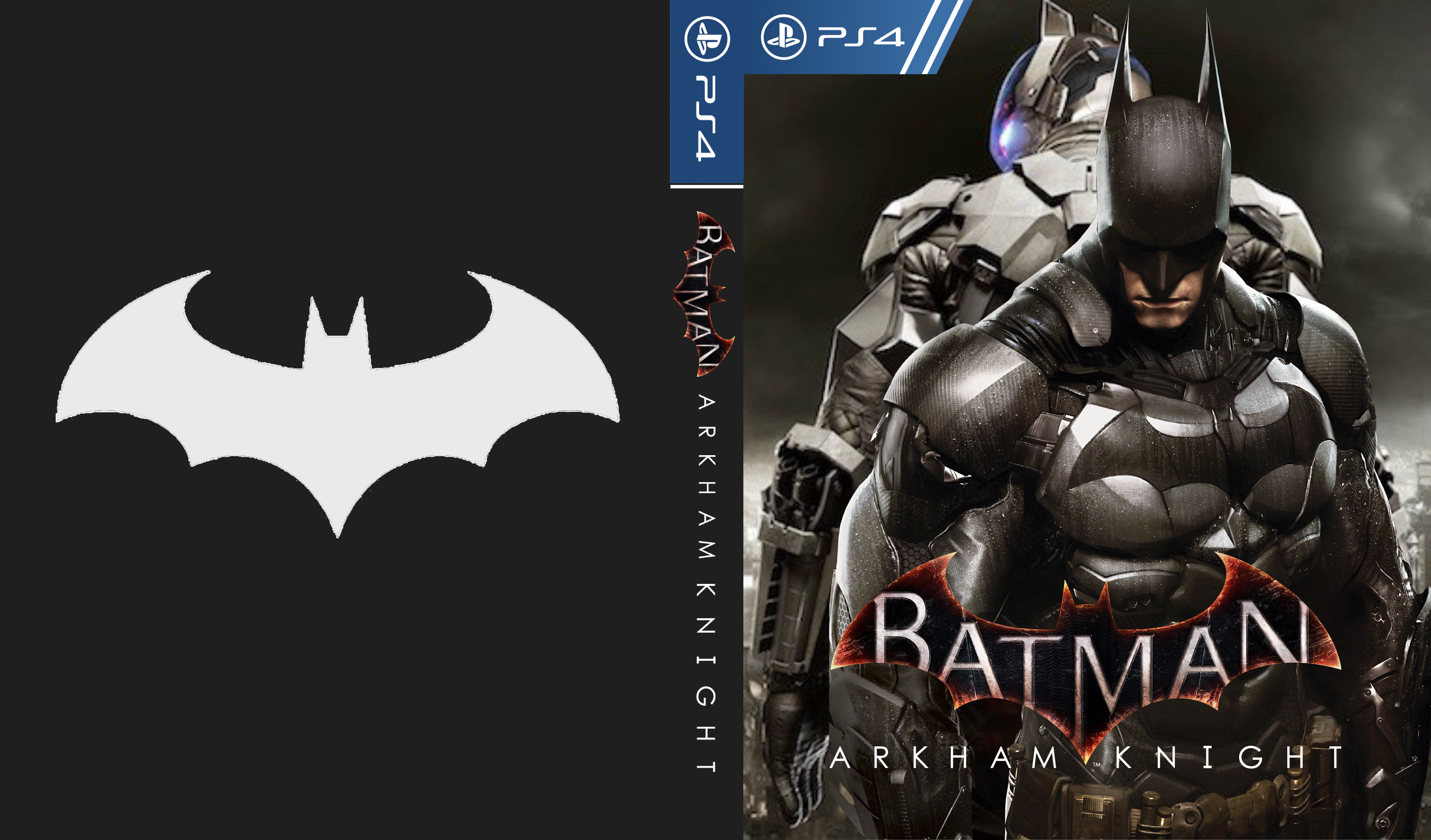 Batman: Arkham Knight box cover