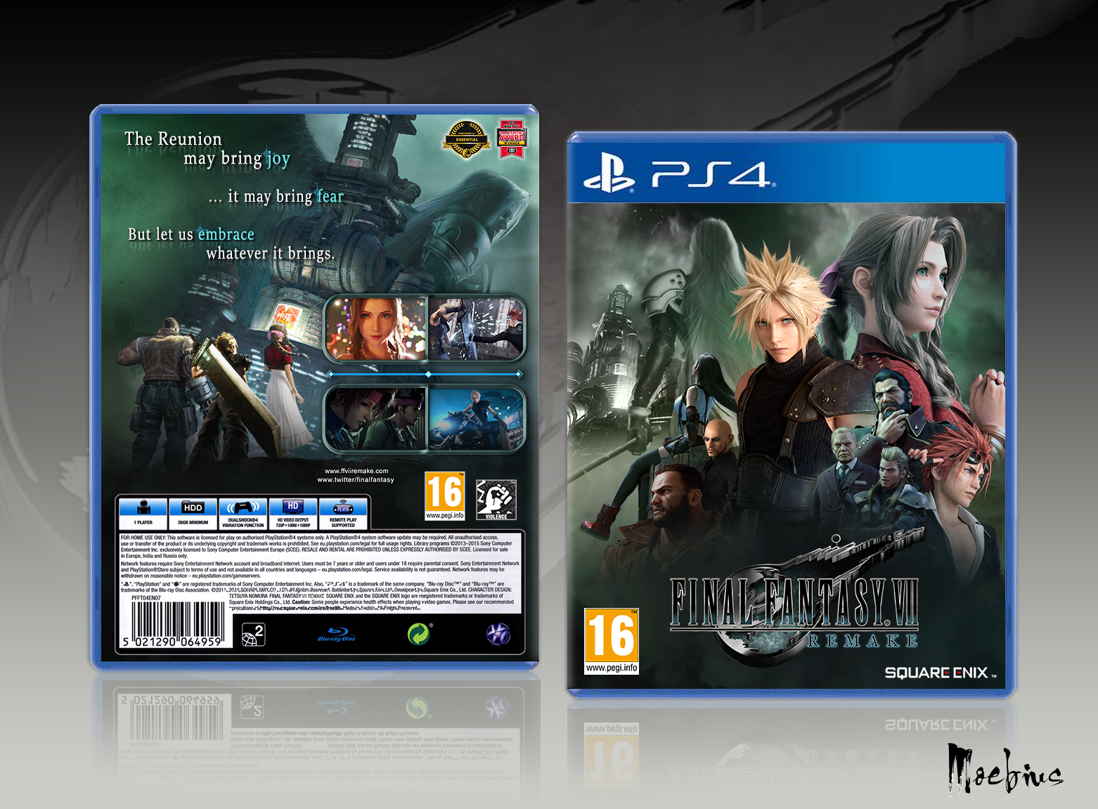 Final Fantasy VII Remake box cover