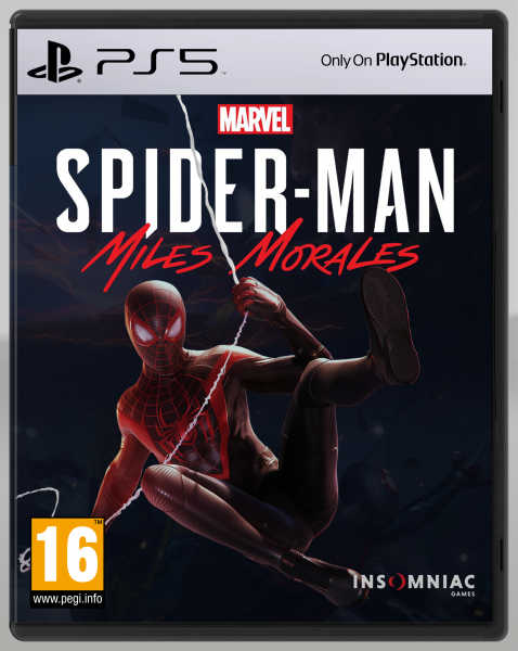 Marvel Spider-Man: Miles Morales box art cover